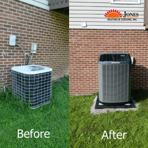 trane before after